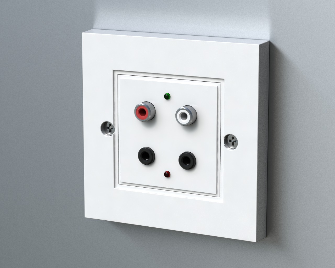 Forte Electronics Set Your Home Audio Free Structured Wiring Panel Wall A Bus Hub For Panels 4 Source Zone 8 Room
